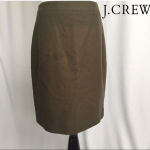 J. Crew Pencil Skirt sz 2